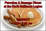 Legion Pancakes and sausage 2