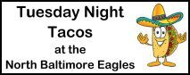 Taco Tuesday at the NB Eagles