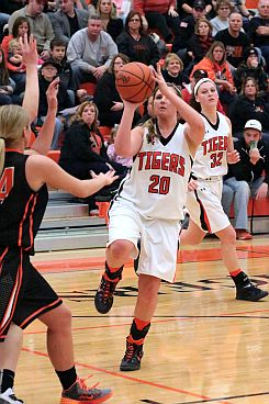"Lady Tigers pick up ""W"" in The Jungle"