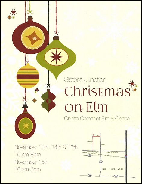 "ENDS TODAY – Sister's Junction ""Christmas on Elm"""