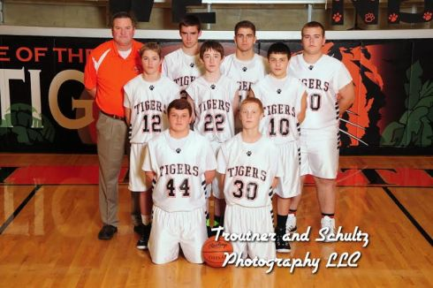 Boys Freshmen BB Team 2014-2015