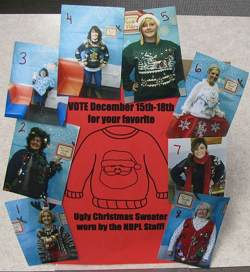 Library Sweaters Collage feature