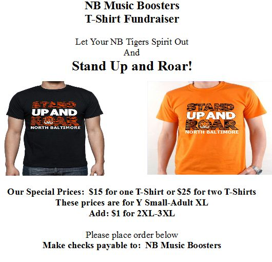 "NB ""Stand Up & Roar"" T-Shirt Fundraiser"