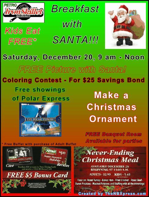 Petro Iron Skillet Christmas Flyer
