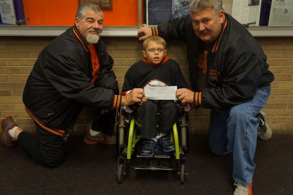 NB Eagles donate to NW Ohio Sled Hockey Team