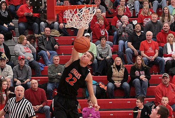 Tiger boys get road win at Bascom