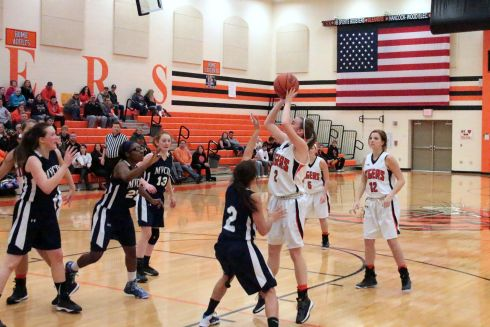 Lady Tiger B-ball beats MVCDS