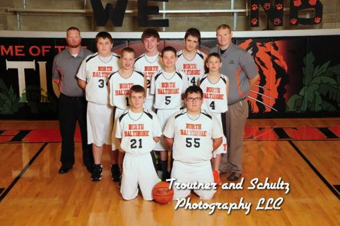 JH Boys 8th Grade BB Team