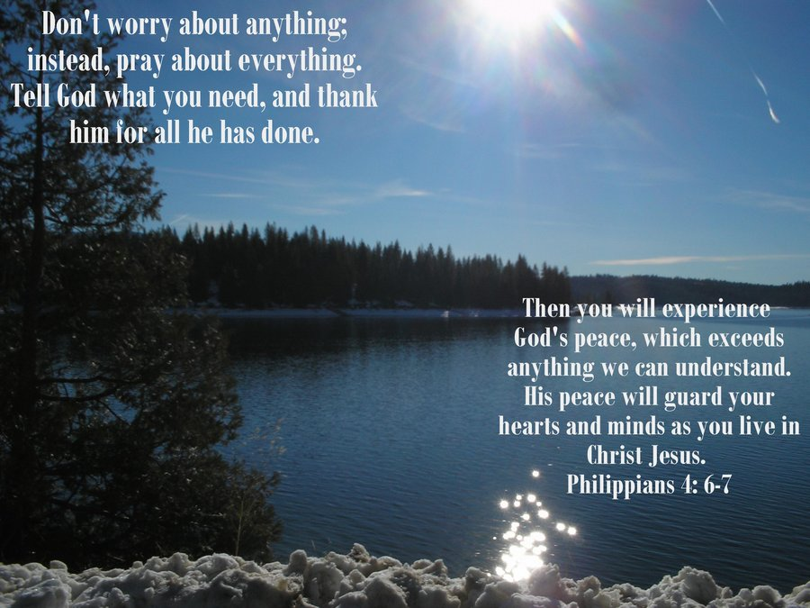 Do Not Worry: A devotion by Ann Elaine Broughton