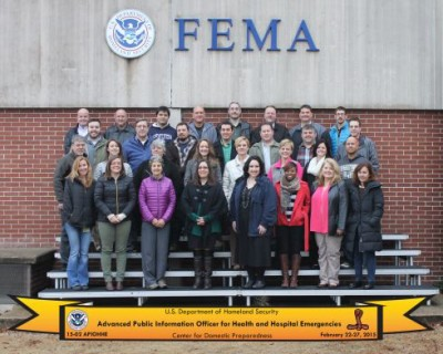Photo:  Megan Riley (front row, 2nd from left), Jennifer Campos (front row 5th from left). Jamie Gerken (2nd row 5th from left), Joy Ermie  (2nd row, 6th from left)