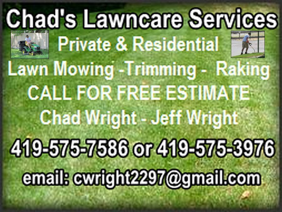 Chads Lawnservice logo 4 large photos added