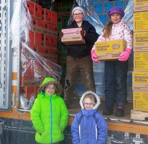 It's Girl Scout Cookie time in NB!