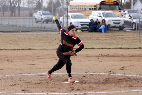 NBHS Softball March 30 2