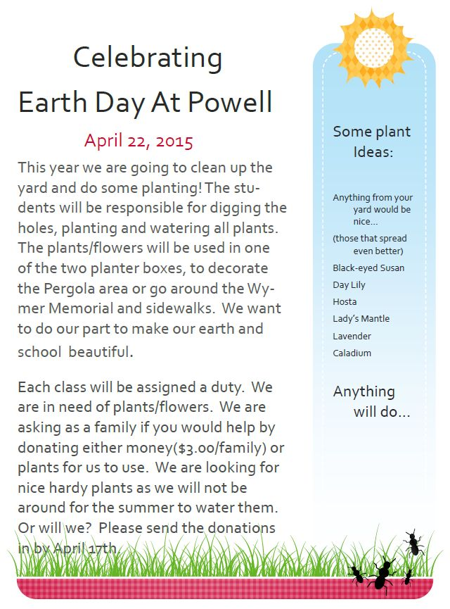 Earth Day at Powell