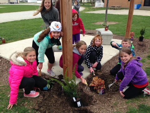 Earth Day at NB Powell Elementary