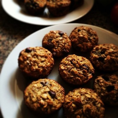 Apple Oatmeal Muffin