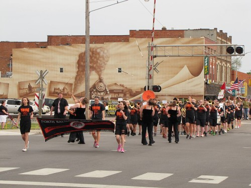 NBHS Band Memorial Day Parade