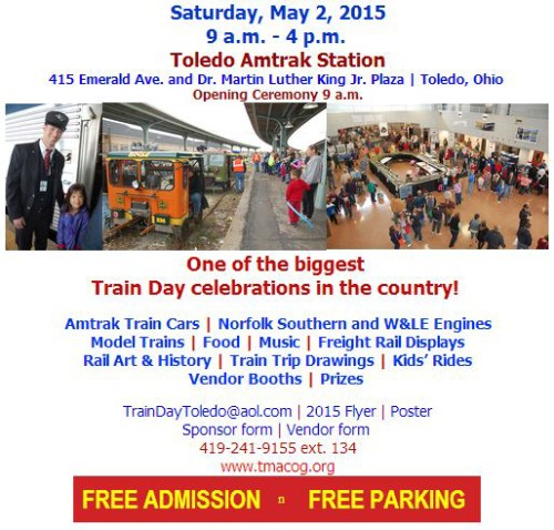 TMACOG National Train Day flyer 2