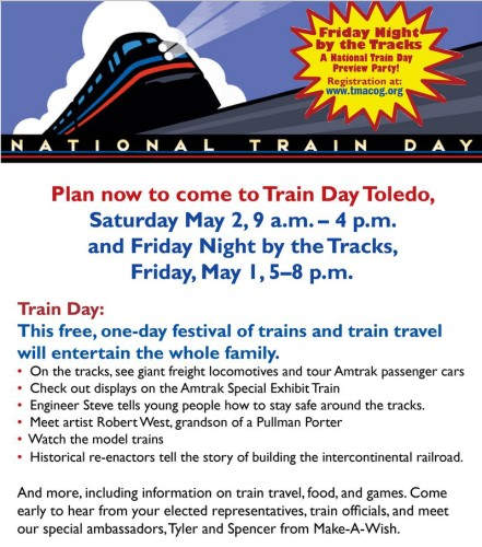 TMACOG National Train Day flyer