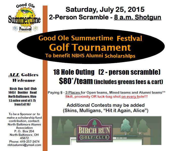 NB GOST Golf Tournament Registration