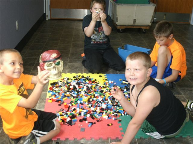 "Library hosts ""Lego Hour"""