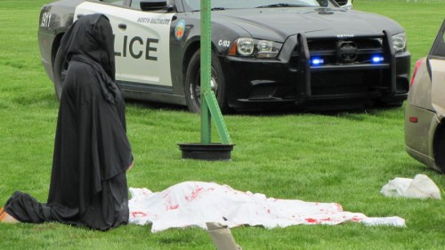 Mock Crash 2015 Grim Reaper