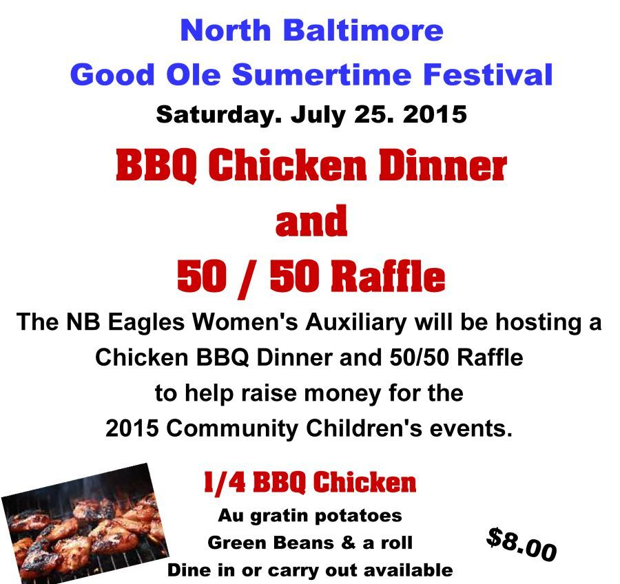 Chicken BBQ on GOST at the Eagle's Club
