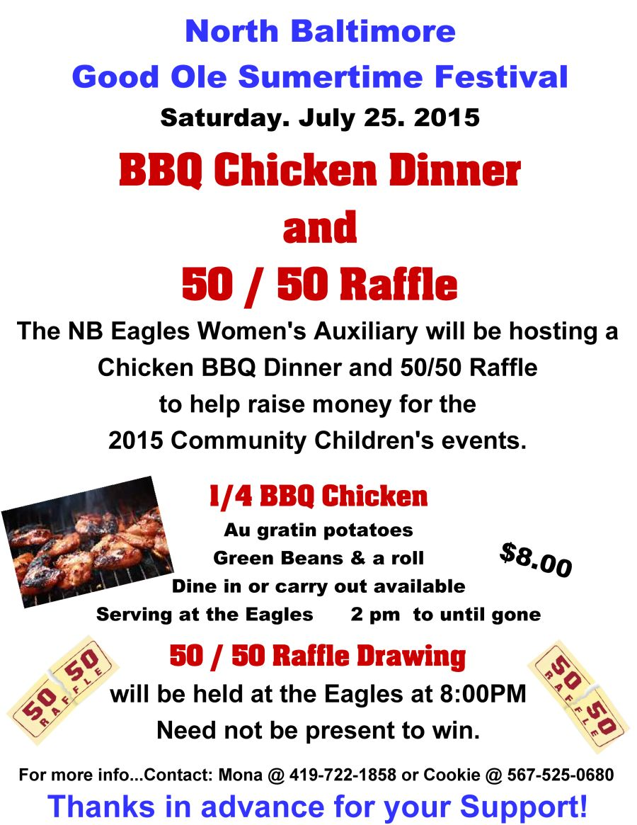 Eagle Aux GOST BBQ flyer