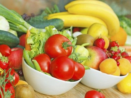 Eat more fruits and vegetables       photo: iStock