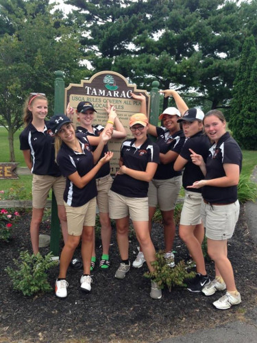 NBGolf Girls vs Lima Central Cath