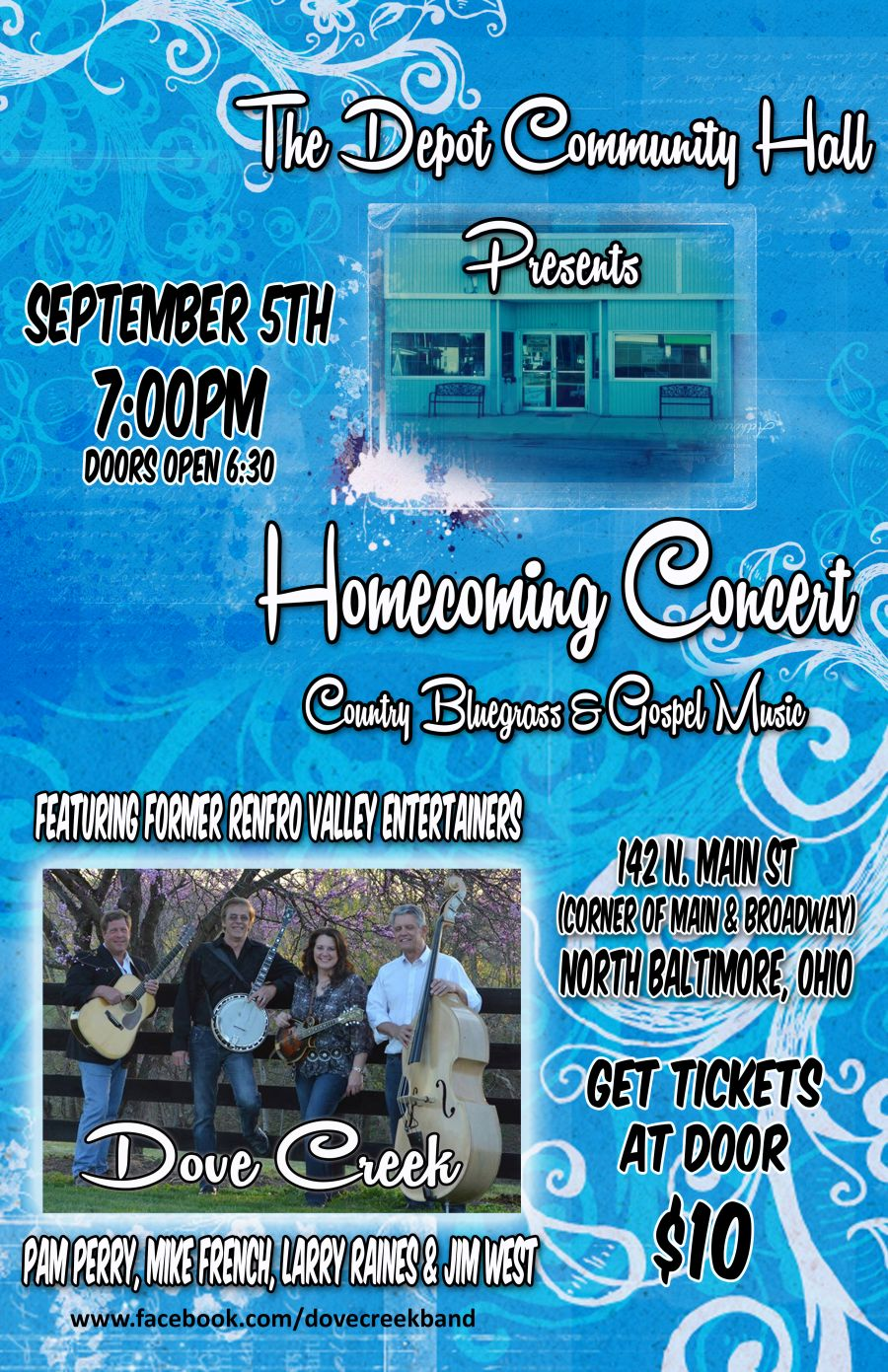 Pam Perry Combs Homecoming Concert at Roxies