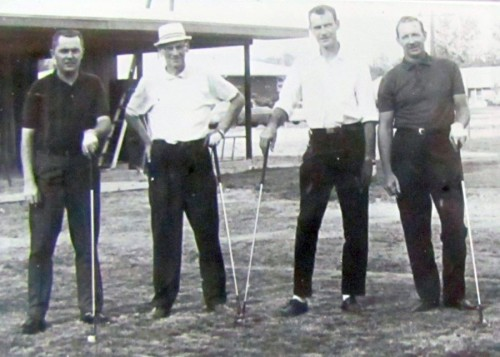 Briar Hill - Birch Run First Foursome - Sept. 13 - 1965