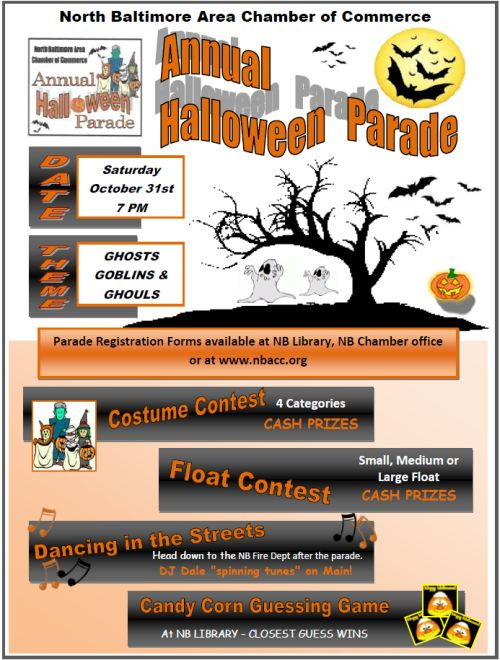 NB Halloween Parade Date & Theme Announced