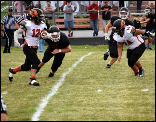 UPDATE with STATS – Tiger Football Beats Otsego