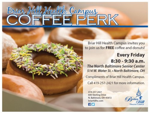 Briar Hill - Senior Center Coffee Perk