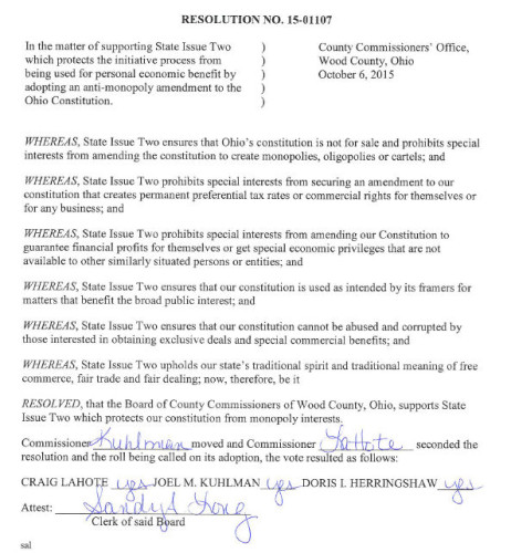 Commissioners Issue 2