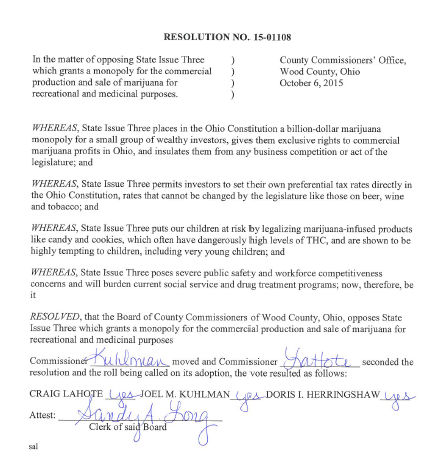 Commissioners Issue 3