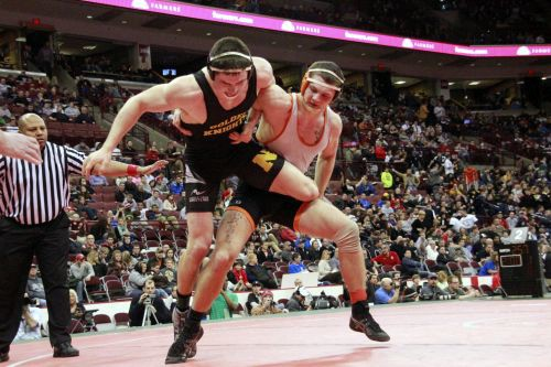 This is a shot from that state championship match.