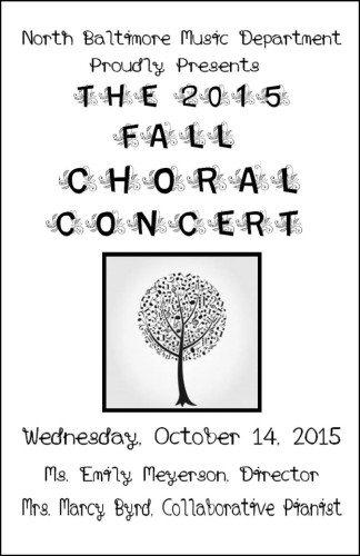 Fall Choral Concert 2015