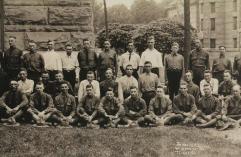 NB Historical Vernon Wymer recruit group