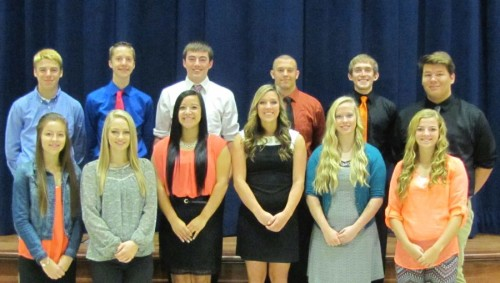 NBHS Homecoming Court 2015