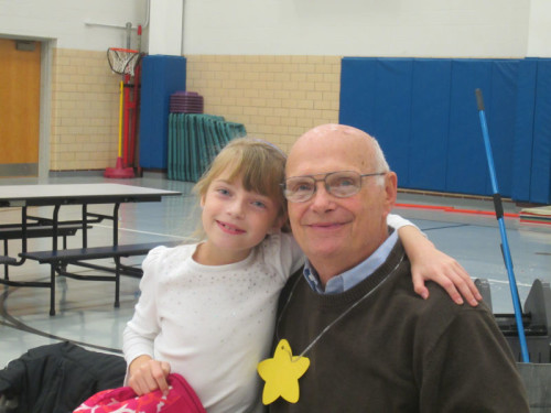 Cassidy Gerdeman invited her grandfather, Jim Gerdeman to our veteran recognition lunch.