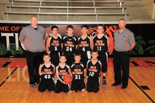 NBJH Boys 7th Grade Basketball 2015-2016