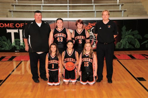 NBJH Girls 7th Grade Basketball 2015-2016