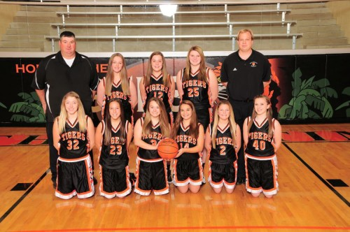 NBJH Girls 8th Grade Basketball 2015-2016