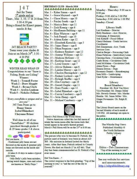 NBPLibrary March2016Newsletter p4