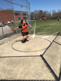 NBHS Track Kiley Brooker - Discus - 4-16-16