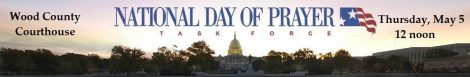 National Day of Prayer 2016 Banner