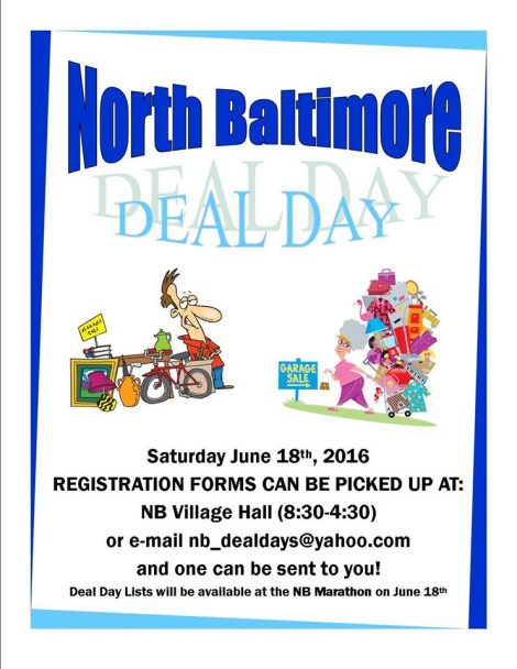 NB Garage Sale Day 2016 flyer