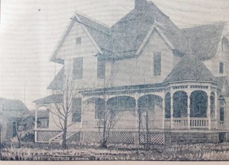 NB Historical Newsletter Spring 2016 An early picture of the Jefferson Richcreek home (229 N. Main) which was built in 1879. Richcreek built the home with his oil boom earnings.